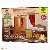 Спальня мебель для кукол 3д пазлы-конструктор из дерева лазерная резка