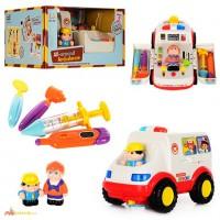 Музыкальная машинка Скорая помощь 836 Huile Toys