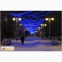Световая нить(String-Light), Led гирлянды, праздничная иллюминация улиц