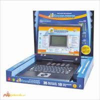 Детский обучающий русско - английский ноутбук 7004 Joy Toy серый