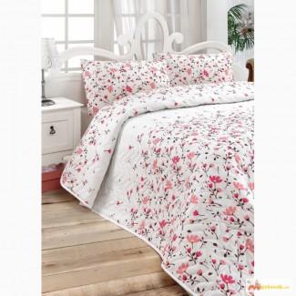 Пледы и покрывала купить недорого, Eponj Home Flomar розовое 200 220