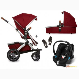 Joolz Geo Mono Earth II 3-in-1 set pram + Cybex Aton 4 carrycot