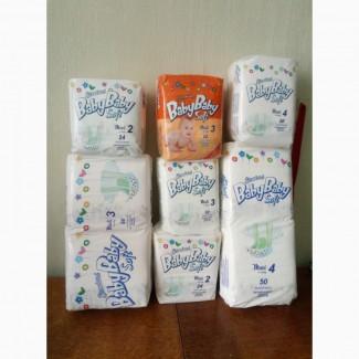 Распродажа подгузников Baby Baby Soft, производство Словакия