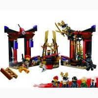 Детский конструктор JVToy 16018 «Зал для коронования» с серии «Герои ниндзя»