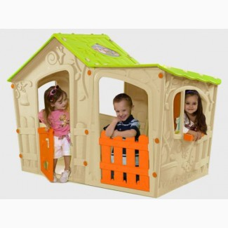 Детские домики, горки, столики