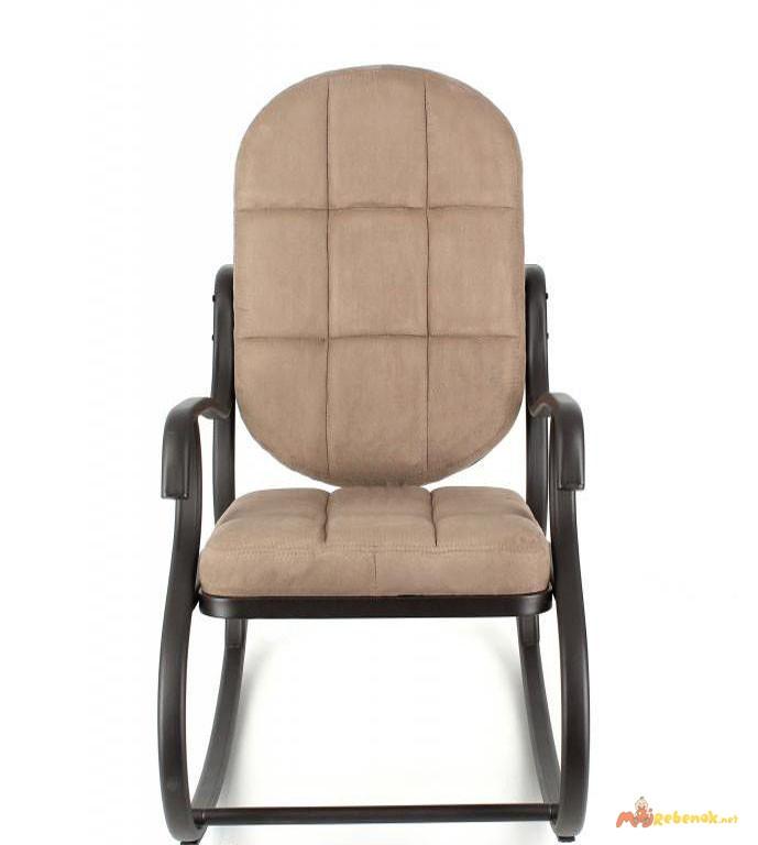 Фото 2. Кресло-качалка, металлическое, Кофе с молоком