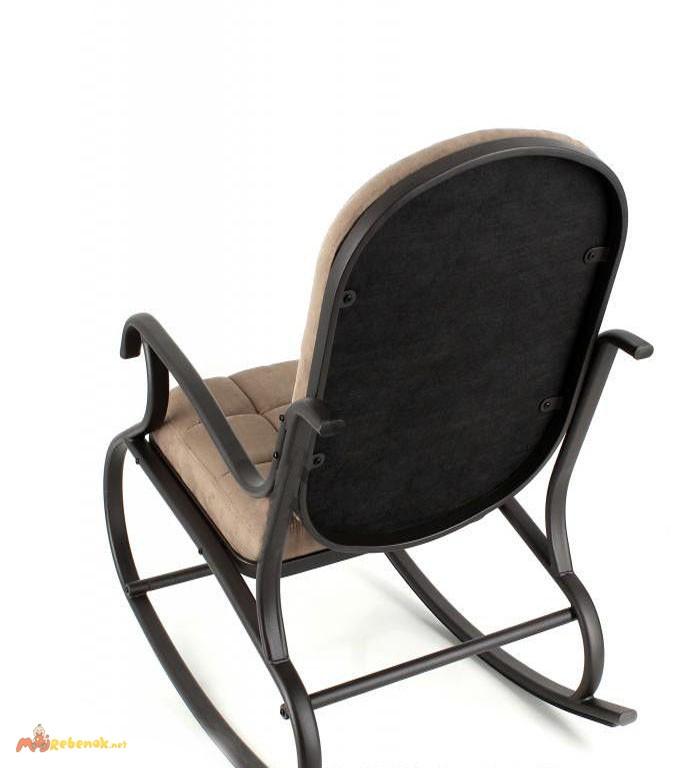 Фото 3. Кресло-качалка, металлическое, Кофе с молоком