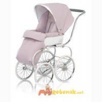 Inglesina Balestrino Frame With Classica Seat With Hood In Pink-White