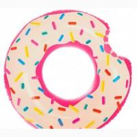 Надувной круг Пончик бесплатная доставка