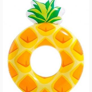 Детский надувной круг ананас бесплатная доставка