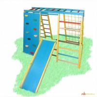 Детский спортивно-игровой комплекс для улицы Скалолаз, спортивный уголок