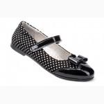 Кожаная детская обувь для школьников тм FeSS