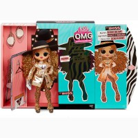 Кукла Лол Омг Леди Босс 3 серия L.O.L. Surprise O.M.G. Series 3 Da Boss Fashion Doll