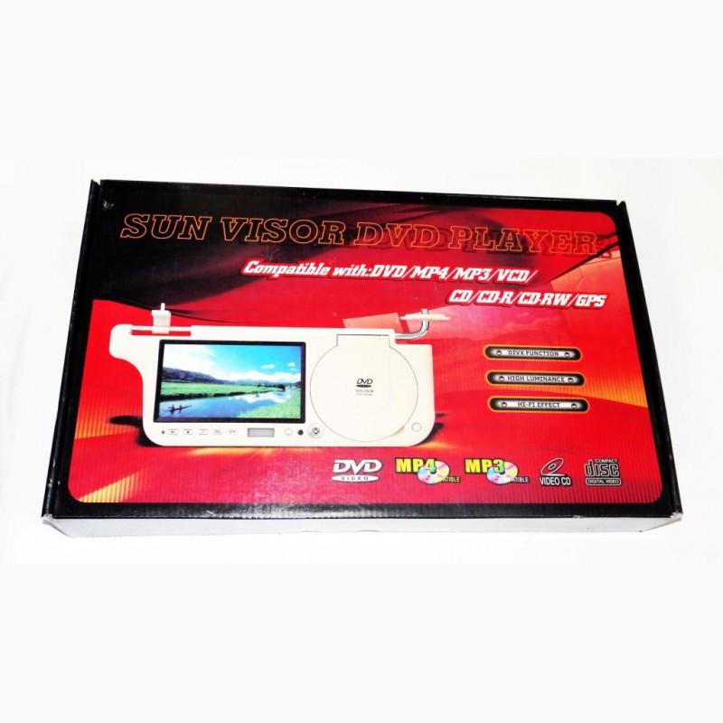 Фото 5. Авто козырек 7 с DVD+USB+SD Бежевый