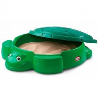Детская песочница «Веселая Черепаха». Вместительность до 68 кг песка