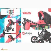 Детские коляски новинки, Коляска универсальная TAKO Design Striped