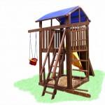 Детский игровой комплекс Компакт-2, игровая площадка, спортивный комплекс