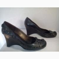 Туфли женские Aola Niglia, кожа, Italia, бу. Безопасная покупка