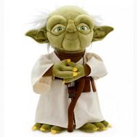 Мягкая игрушка Магистр Йода Звездные войны Дисней