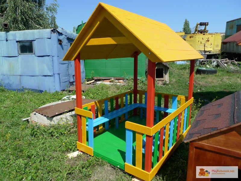 Домики на детскую площадку фото