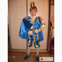 Принц (6-11лет) Карнавальный костюм на прокат!