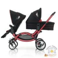 ABC design Zoom для двойни Прогулочная коляска + твёрдая люлька