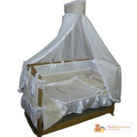 Комплект VIP - Персона с вышивкой в кроватку с 8 предметов
