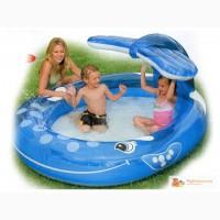 Бассейн детский надувной с фонтаном Кит Intex 57435