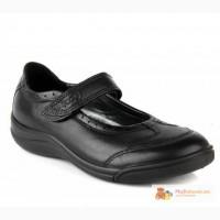 Продам новые черные туфли на девочку экко, 30 р