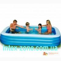 Очень удобный прямоугольный бассейн 58484 Intex