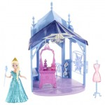 Замок Эльзы с мебелью и аксессуарами