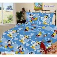 Продается комплект постельного белья Mickey Mouse blue