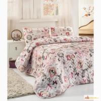 Покрывало полуторное купить Eponj Home Madame розовое 160 220