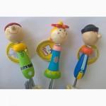 Веселые зонтики с ручкой-игрушкой от Bino