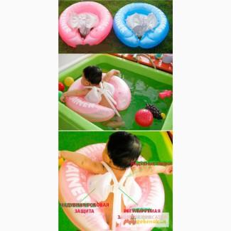 Самый безопасный детский надувной круг для плаванья Свимтрейнер