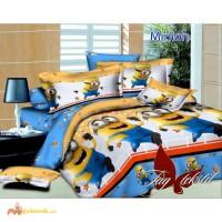 Продается комплект постельного белья Minion с компаньоном