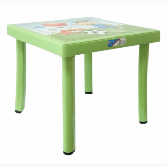 Детский пластиковый декорированный столик