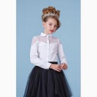 Блузка для девочки 26-8065-1 zironka рост 116, 122, 128