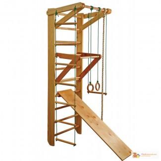Спортивный уголок из дерева, Sport 3-220