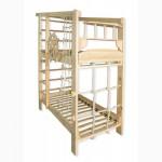 Спортивная двухъярусная кровать Капитан из сосны