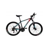 Велосипед Trinx M100 26х19 Matt-Black-Red-Cyan (M100.19MBRC)