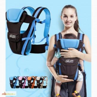 Удобный рюкзак-кенгуру (слинг) с ортопедической спинкой