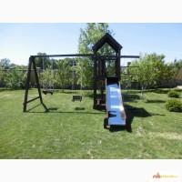 Baby Smile mini детская игровая площадка, комплекс: горка, качели, песочница