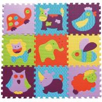 Детский коврик-пазл Веселый зоопарк gb-m129a2 Baby Great