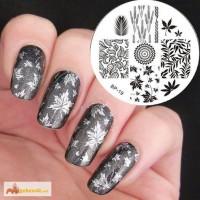 Диск BP19 для дизайна ногтей konad дизайн