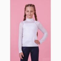 Блузка с майкой для девочки 64-8026-1 zironka рост 122, 134, 146, 152