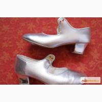 Женские туфли для танцев (степ, чечетка и т.п.), б/у