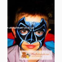 Человек паук, ниндзя черепашки, бетмэн маски на детский праздник киев.