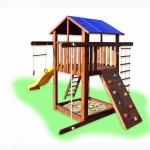 Детский игровой комплекс Компакт-1, игровая площадка, спортивный комплекс
