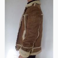 Куртка дублёнка тёплая натуральная, женская (мужская)